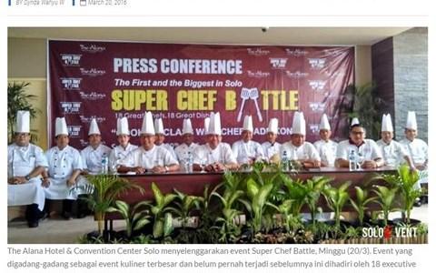 PERTARUNGAN MASAKAN KULINER DI SUPER CHEF BATTLE
