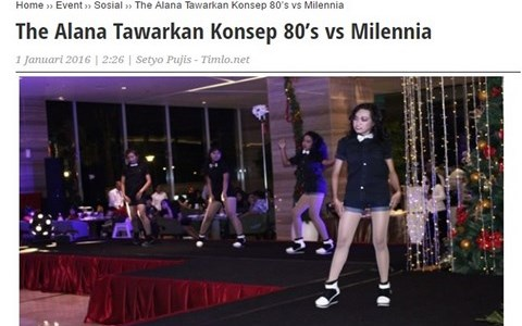The Alana Tawarkan Konsep 80's vs Milennia