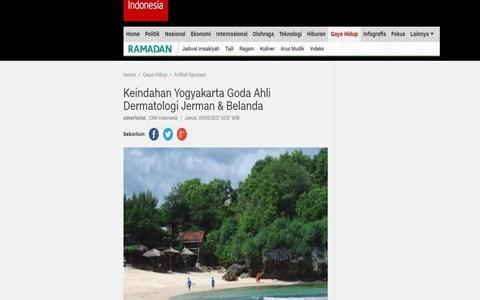 Keindahan Yogyakarta Goda Ahli Dermatologi Jerman & Belanda