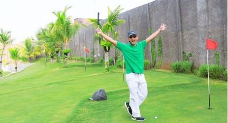 Mini golf specially built in Aston Cirebon Hotel and Convention Center