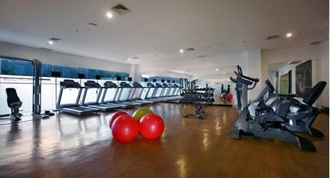 Stay healthy by training your body only in Aston Cirebon Hotel and Convention Center's health club