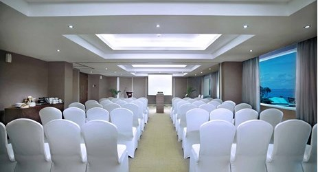 Indoor function room to host business meeting, workshop, training or wedding, birthday party or any reception in in modern stylish classy hotel in kupang