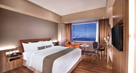Unique room with minimalist design is perfect choice for business, leisure, and family overlooking to ocean to stay in kupang