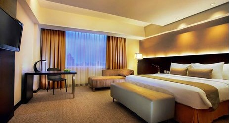 A stylish and spacious room complete with modern facilities to make your business and leisure time more enjoyable in makassar