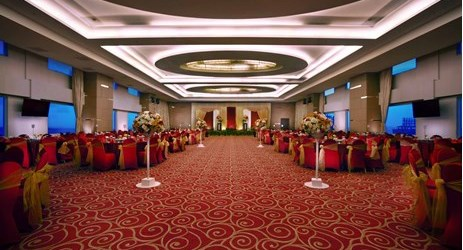 our largest indoor meeting function room to host business meeting, workshop, training or wedding, birthday party or any reception in makassar