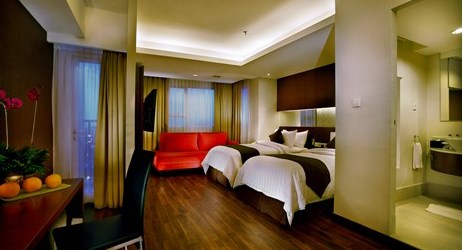 Homy bedroom to sleep and getting comfortable while staying in the commercial center of North Jakarta