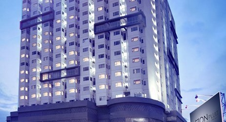 Stylish and modern hotel building in the commercial center of North Jakarta