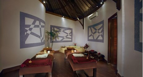 A relaxing spa with special treatment and massage to pamper body and soul in a beautiful resort to stay when visit gili trawangan island lombok for holiday