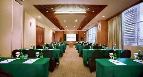 Distinguished venue for a high-level business function.