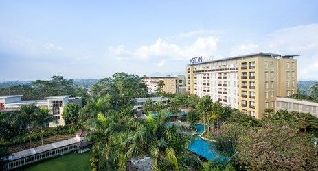 Here is the best place to stay where you're in Bogor.