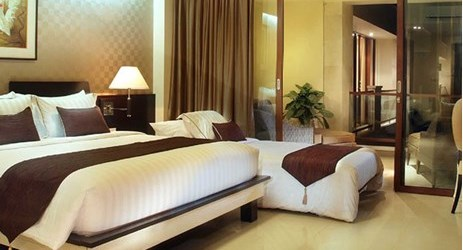 spacious room for holiday with family in kuta bali