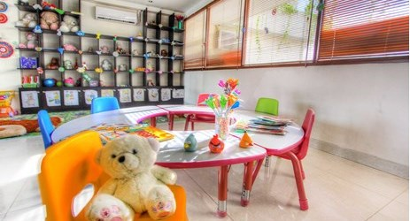 Kids club facility for holiday with family in Kuta bali