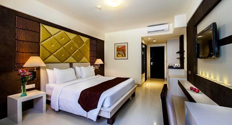 A modern and comfortable room for holiday in Kuta bali