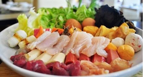 Fresh ingredients and plenty of choices to choose from, do enjoy our Shabu-Shabu menu.