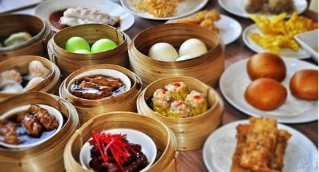 fresh and daily prepared Dim-Sum, only at Aston Pontianak