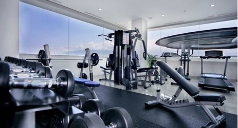 Raga gym that provides a comfortable and prestige place.