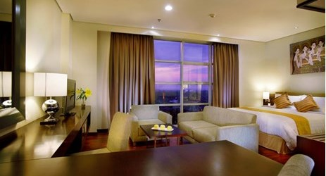 Comfortable, prestige, spacious room with queen size, best view like a mountain view and city view.