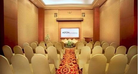 A small indoor function room to host business meeting, workshop, training, birthday party or any reception in Samarinda.