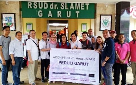 ASTON Braga Hotel & Residence Bersama Archipelago International Cluster Jawa Barat Turut Serta Membantu Korban Banjir Garut