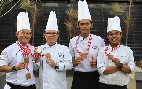 Chef Edy Won The International Chef Contest 2017
