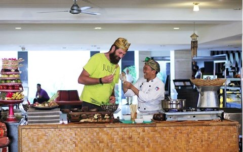 Chef Julius Bienert Goes to Aston Kuta