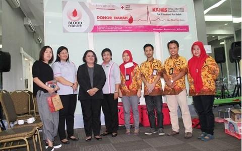 Blood Donation Fave Hotel Puri Indah Jakarta 22 September 2016