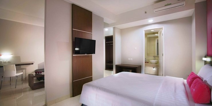 36 Sqm In Size Our Suite Room Are Available With Double Beds And Living