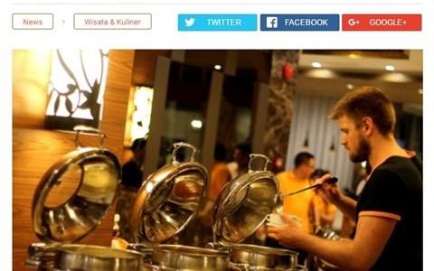 Santap Kuliner Nusantara di Kampung Rustik Hotel Harper Mangkubumi